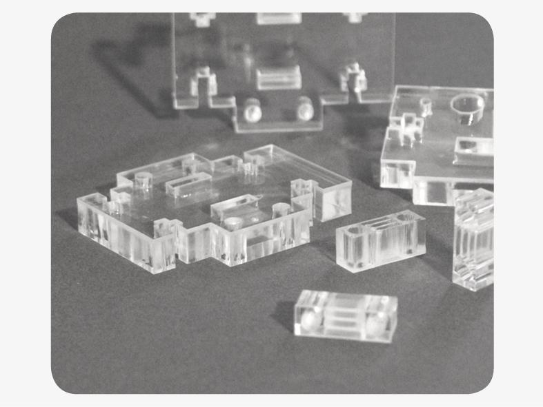 Plexiglas Laserschneiden technische Teile