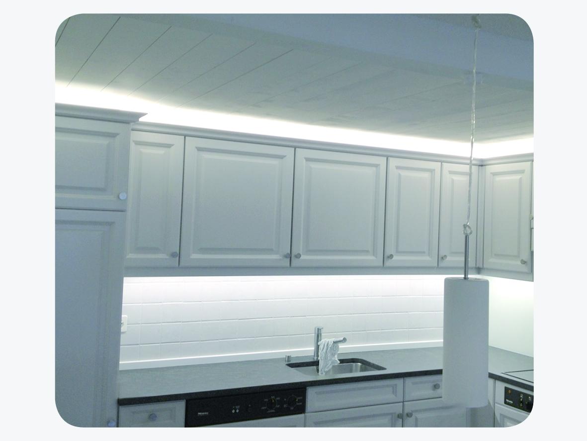 <span class='widget_first'>LED</span> Beleuchtung Küche
