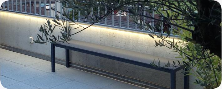 LED Beleuchtungstechnik Terrassenbeleuchtung