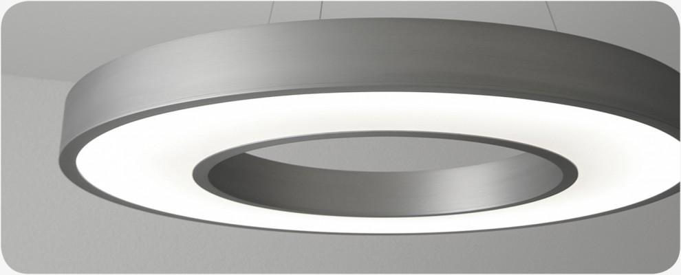 Pendelleuchte Spezialanfertigung Plexiglas und LED